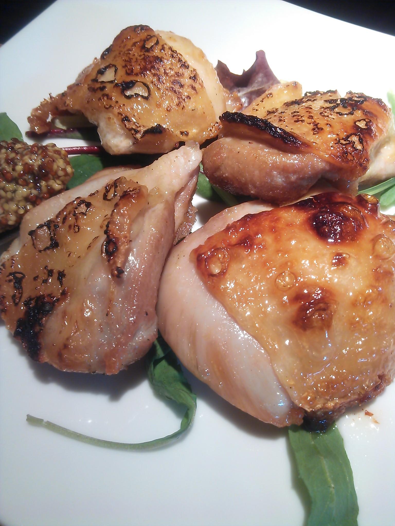 大山鶏もも肉の窯焼き